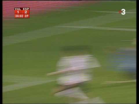 Gol de Luis García al Valencia CF