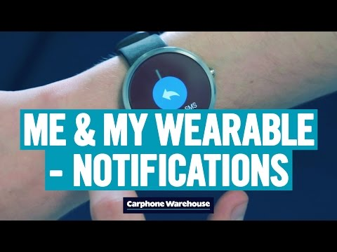 Notifications on your wearable