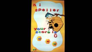 Spelling for Kindergarten YouTube video