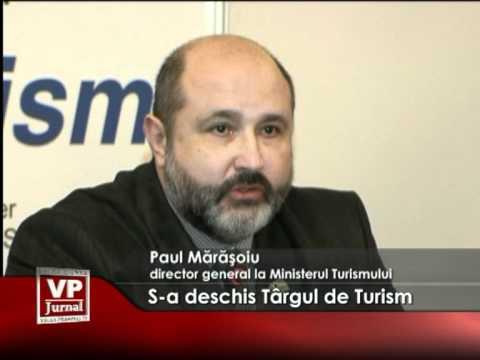 S-a deschis târgul naţional de turism