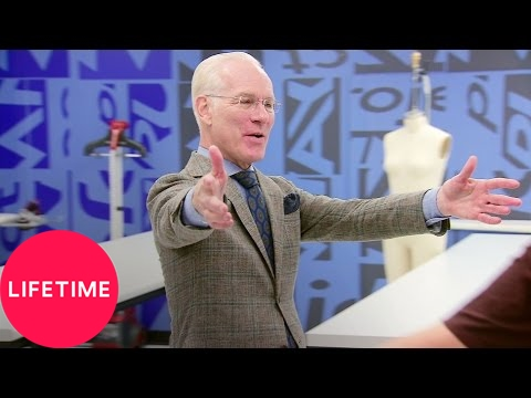 Project Runway Junior Finale, Part 1: Zachary's Chanel Straw | Lifetime