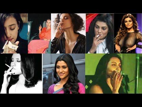 बॉलीवुड अभिनेत्रियां जो वास्तविक जीवन में धूम्रपान करती है | Bollywood Actresses Who Do Smoke