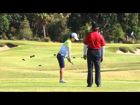 [Australian Golf Schools _ ANK GOLF] LPGA Tour So Yeon Ryu demonstrate good pre shout routine