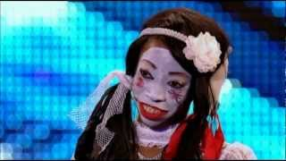 Geisha Davis Possesses the Britain's Got Talent 2012 Judges!
