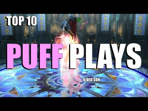 Top 10 Jigglypuff plays (Smash Bros. for Wii U)