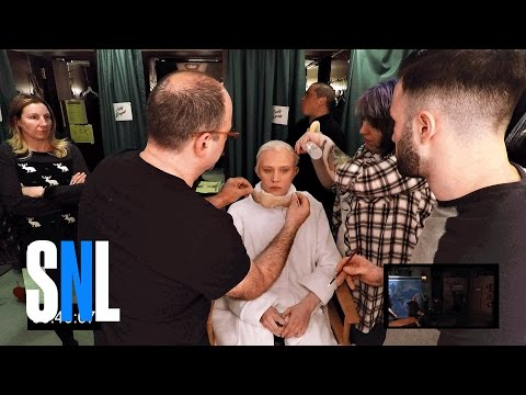 A BehindtheScenes Look at a Speedy Saturday Night Live MakeUp