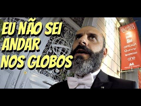 Rui Unas e Vânia Neto à chegada dos Globos de Ouro da SIC 2017
