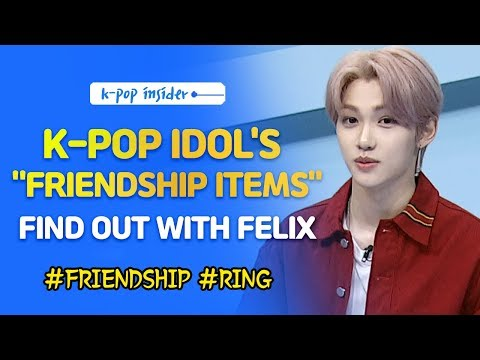 "[Pops in Seoul] K-pop idols' ""friendship items"" (feat. Felix)"