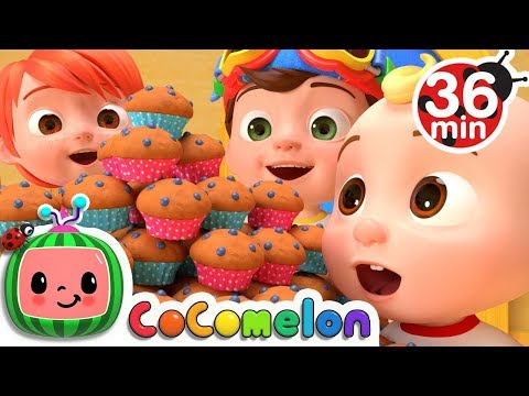 The Muffin Man + More Nursery Rhymes & Kids Songs - CoComelon