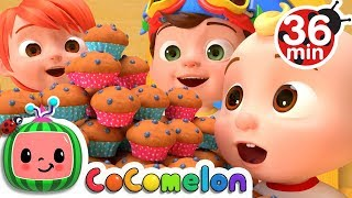 Video The Muffin Man | +More Nursery Rhymes & Kids Songs - CoCoMelon MP3, 3GP, MP4, WEBM, AVI, FLV Januari 2019