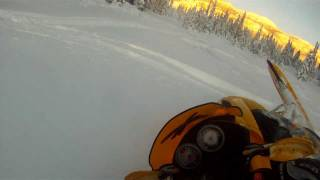 8. Ski doo Mxz 550X