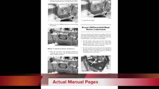 7. DOWNLOAD 2004 Arctic Cat ATVs - all models factory service and repair manual,