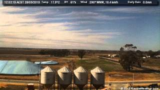 28 May 2015 - East Facing WeatherCam Timelapse