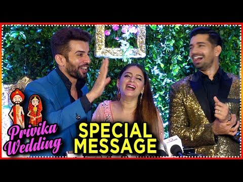 Jay Bhanushali and Mahhi Vij SPECIAL MESSAGE To Pr