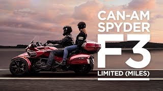 9. 2018 Can-Am Spyder F3 Limited (Miles)