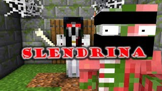 Video Monster School : SCARY SLENDRINA THE CELLAR CHALLENGE - Minecraft Animation MP3, 3GP, MP4, WEBM, AVI, FLV Juni 2018