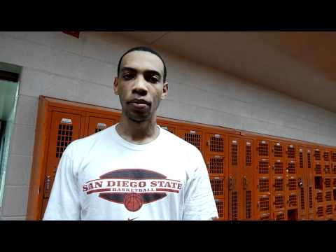 Malcolm Thomas Portsmouth Invitational Tournament Interview