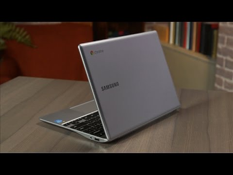 Computing - http://cnet.co/1nsSYTo A new version of its existing 11.6-inch Chrome OS laptop comes with direct access to support, sturdier construction and a fanless design. http://www.cnet.com/videos/samsung-...
