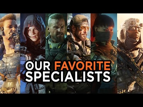 "call of duty black ops 3 ""specialists""!!!"