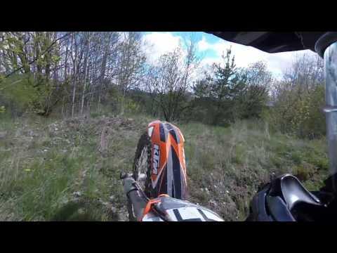 Podjazdy KTM 400 EXC