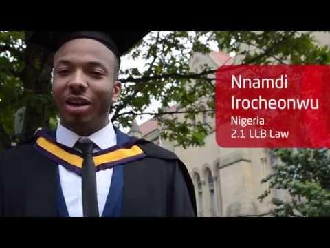 INTO Manchester Alumnus Graduation at The University of Manchester -Nnamdi Irocheonwu