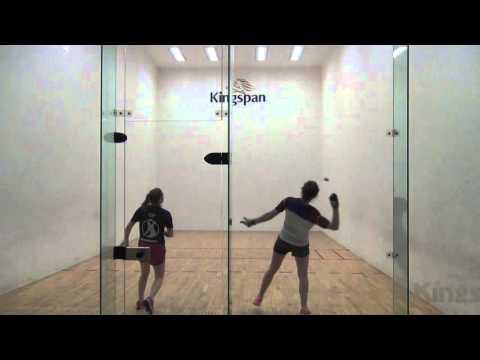 ICHA 40x20 singles intervarsities 2016 Women's Open final Game 2