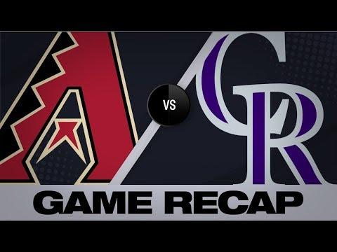 Video: Arenado's walk-off HR seals Rox 7-6 win | D-backs-Rockies Game Highlights 8/14/19