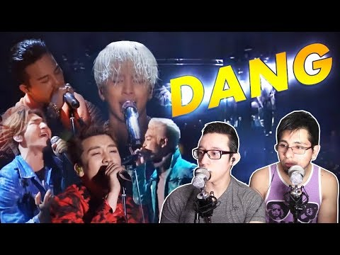 GUYS REACT TO BIGBANG 'Tell Me Goodbye' LIVE 2015
