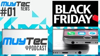 #MuyTecNews | iPhone 7 diría adiós al conector 3.5mm, Black Friday y Muytec Podcast, iPhone, Apple, iphone 7