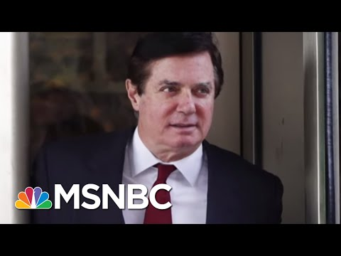 Paul Manafort Expected To Plead Guilty In Robert Mueller Probe | Velshi & Ruhle | MSNBC