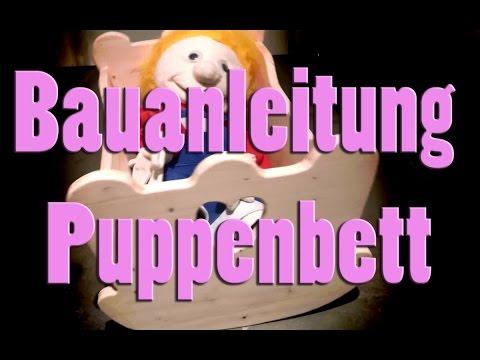 Puppenbett selber bauen | Holz | Anleitung