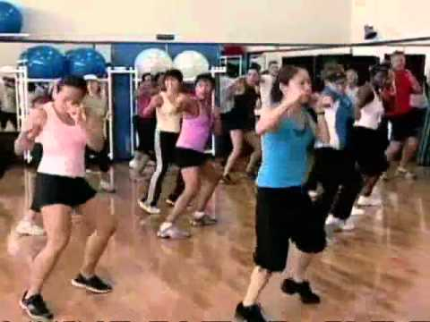 aerobic - great 27 minute fitness video - to get the blood going.