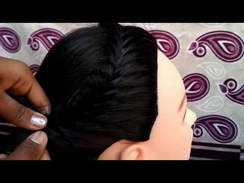 Braid hairstyles - FRENCH BRAID HAIRSTYLE  PARTY HAIRSTYLE  LONGHAIR HAIRSTYLE