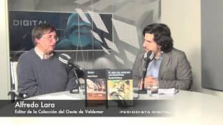 """Alfredo Lara: """"Destripar una novela por brillar en un prólogo es un crimen, nunca desvelaré más allá de la pág"""