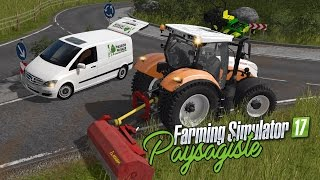 Video 🌻 Farming Simulator 17 | Ep2 | Paysagiste | Broyage d'accotement ! MP3, 3GP, MP4, WEBM, AVI, FLV Oktober 2017