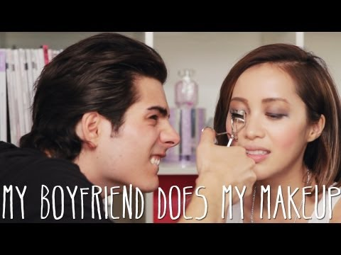 boyfriend - My boyfriend does my makeup video! Special thanks to Dom for trying his best to do my makeup ♥ How do you think he did? a Guy, a Girl Video: Mish vs Dom, see...