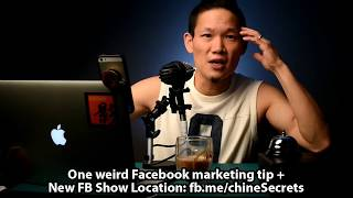 Nearing my 80th (EIGHTY!?!?) livestream and still learning every day ...Here's one tip for those who are trying to decide to livestream from their Facebook Page vs Profile.  http://fb.me/chineSecretsMore chineSecrets: http://chineSecrets.comLearn to Livestream: http://livestreamgeek.com--- HOW TO SUPPORT THE SHOW ---Thanks for watching!   If you like what you've seen and would like to help us create more videos like this, we'd love for you to start your online shopping off with the links below. As affiliates we get a small percentage of qualifying purchases but rest assured you won't pay a cent more than buying it elsewhere on the world-wide-web. Every purchase helps no matter how big or small, so THANK YOU for starting your shopping off with our links! Amazon.com - http://amzn.to/2nYarYCAmazon.ca - http://amzn.to/2nMREPuAmazon.co.uk - http://amzn.to/2oMaILoB&H Photo - https://bhpho.to/2ooyxNfAdorama - http://bit.ly/1EGcfqWEbay - http://ebay.to/2oMgMDLIf you love what you've seen and want to contribute towards the show on a monthly basis, please consider becoming a Patron here:  https://www.patreon.com/chineSecretsFor more laughs, learning and love visit our home on the web at http://notsoancientchinesecrets.comFor more Behind the Scenes and to start a conversation:Facebook: http://facebook.com/chineSecretsInstagram: http://instagram.com/chinesecretsTwitter: http://twitter.com/chinesecretsGod bless, and see you in the next video :)Multistreaming with https://restream.io/