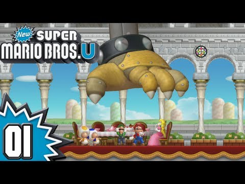 New Super Mario Bros. U - Episode 01