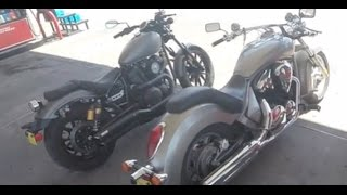 8. RACE!!!! Yamaha bolt vs Honda Stateline