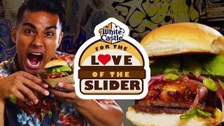 Chef Jordan Andino's Pork Belly White Castle Burger - New York   For the Love of the Slider