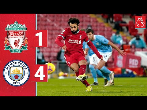 Highlights: Liverpool 1-4 Manchester City | Reds beaten at Anfield