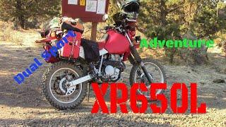 10. XR650L Dual Sport Adventure Solo Ride!