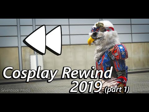 Cosplay Rewind 2019 Cosplay Music Video