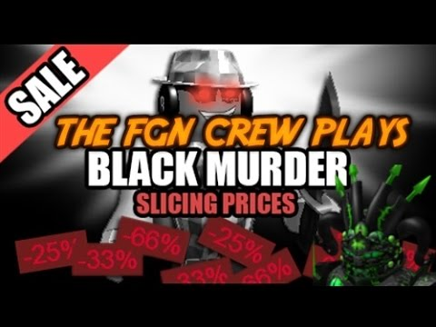 The FGN Crew Plays: Roblox - Twisted Murder Black Friday Edition (PC)
