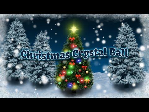 Video of Christmas Crystal Ball Free LW
