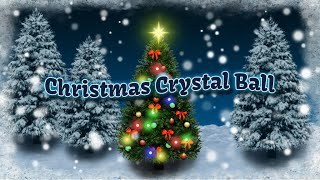 Christmas Crystal Ball Free LW YouTube video