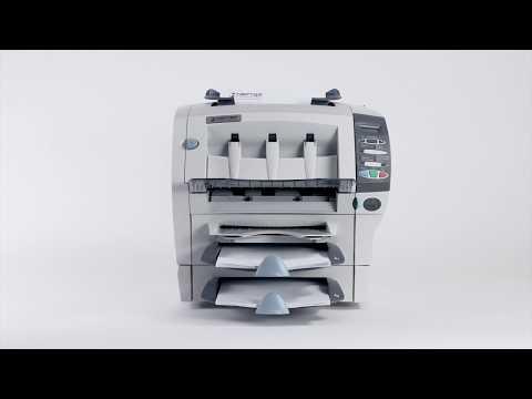 Kuvertiermaschine SI 1050 von HEFTER:  Falzen und Kuvertieren auf Knopfdruck
