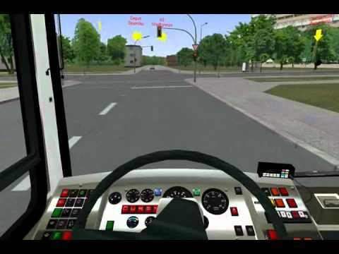 OMSI Bus Simulator - Driving Ikarus 415 on line 92