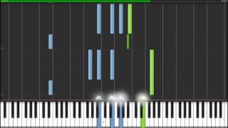 Memoirs Of A Geisha- Chairman's Waltz (Synthesia Piano Tutorial)