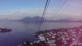 Stresa Italy  city photos : Views of Stresa, Italy Enroute To Mottarone Via Cable Car